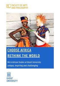 African Studies @ Ugent